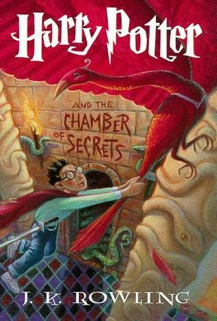 book cover of Harry Potter and the Chamber of Secrets